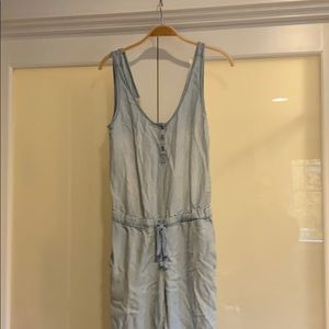 Cloth and stone denim jumpsuit small